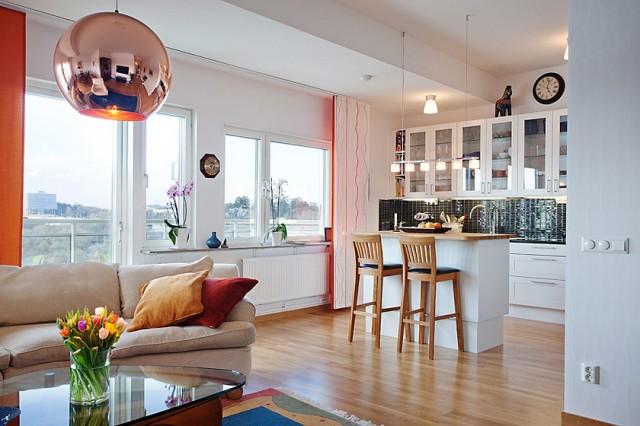 Cocina y sal n en un mismo espacio for Cocinas y salones abiertos