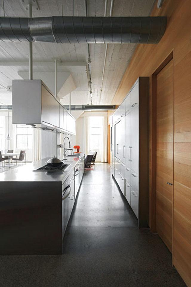 Loft decoración cocina estilo industrial