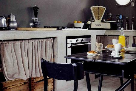 Dise o con muebles de obra - Ver cocinas rusticas de obra ...