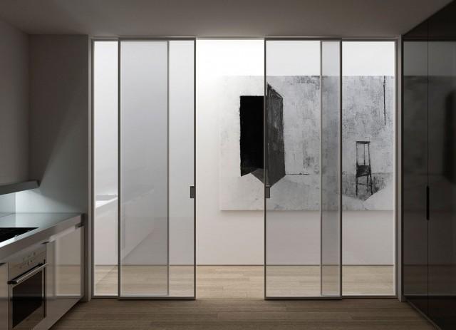 Elegir el tipo de puerta m s adecuado for Puertas de paso de cristal