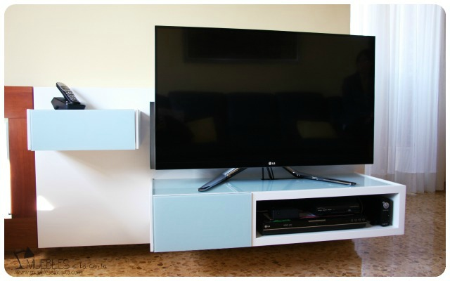 Mueble para televisión, ¡fuera cables! - dintelo.es