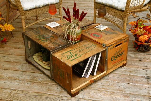Otra idea DIY que podemos hacer con las cajas de madera es darles una ...