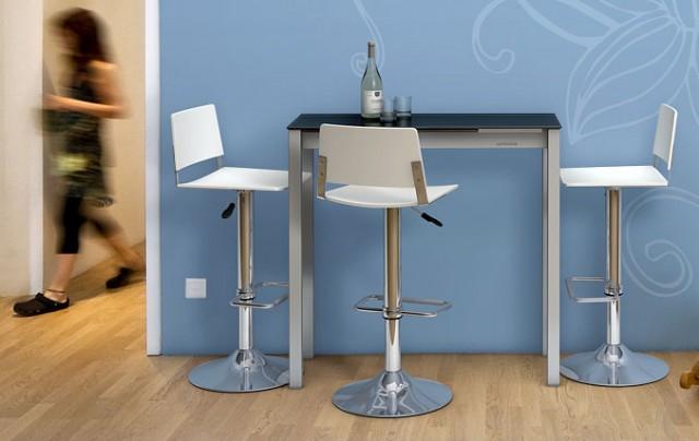 Mesas para cocinas peque as for Muebles de cocina espacios reducidos