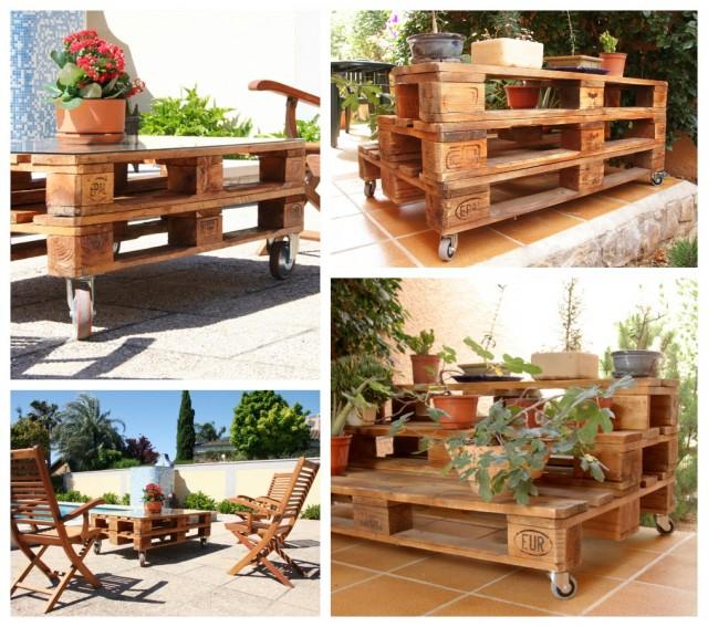 Tienda online de muebles con materiales reciclados for Reciclar palets de madera muebles