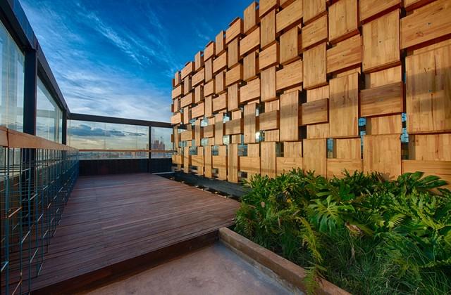 El fabuloso antiguos materiales para proyectos modernos for Materiales para terrazas