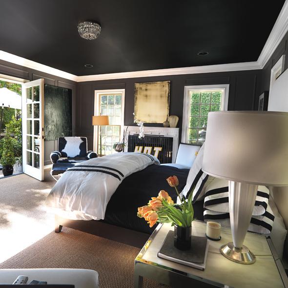10 razones para pintar el techo de negro - Como pintar paredes y techos ...