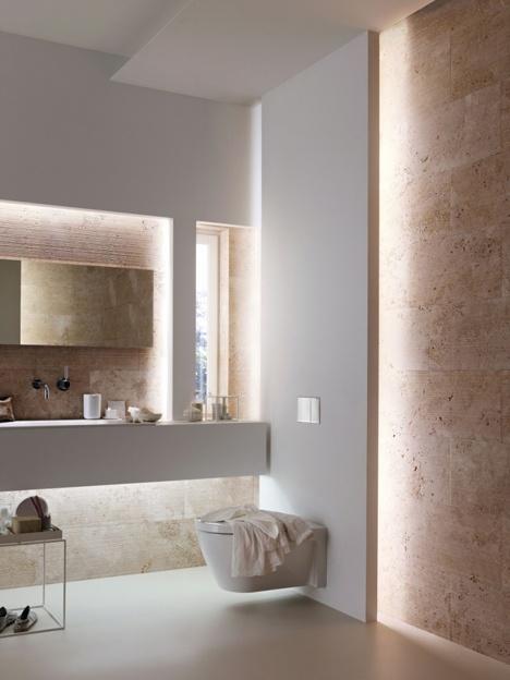 Iluminacion Baño Consejos:Para iluminar correctamente un baño , no deben utilizarse tubos