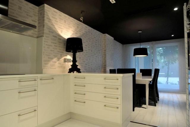 10 razones para pintar el techo de negro for Pintar techo cocina