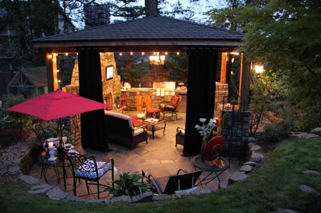 Terrazas con encanto for Terrazas rusticas techadas