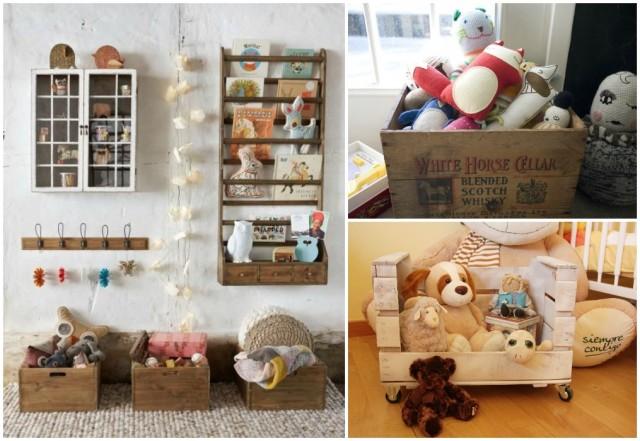 Ideas y accesorios para guardar los juguetes - Estanterias guardar juguetes ...