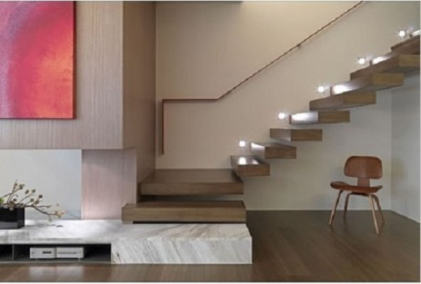 Iluminaci n led - Escaleras con led ...