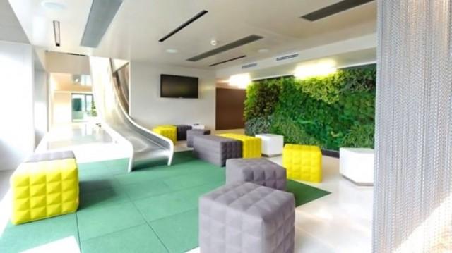 Las oficinas m s creativas for Decoracion de oficinas creativas