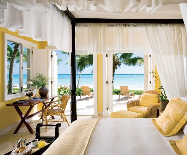 amarillo dormitorio playa