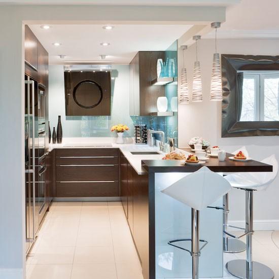 Cocinas peque as - Aprovechar espacio cocina ...