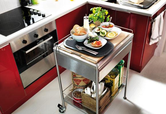 Cocinas peque as - Como organizar una cocina pequena ...