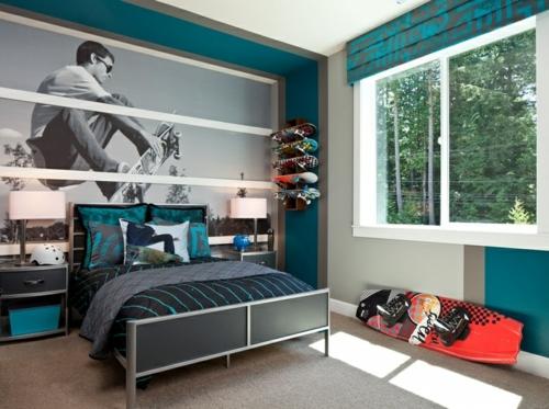 Dormitorio para chicos adolescentes Dormitorios adolescentes