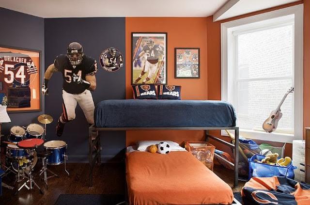 Dormitorio para chicos adolescentes   dintelo.es