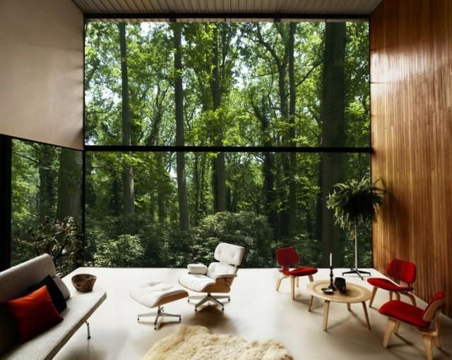 Un salón con grandes ventanales: ideas - dintelo.es