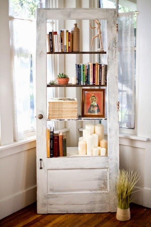Decorar con puertas antiguas for Puertas recicladas para decorar