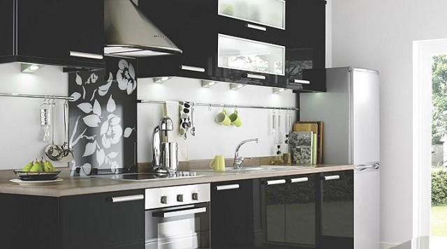 cocinas negras - Cocinas Blancas Y Negras
