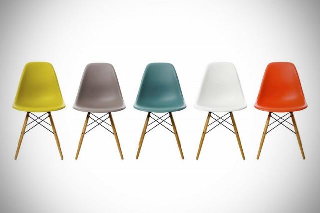 estas lneas puras y la combinacin de materiales hacen posible que las sillas eames encajen en cualquier ambiente y espacio son ideales como sillas de