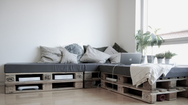 sofas con palets - Chill Out Con Palets