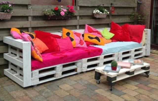 Sof s de palets for Cojines sofa palets