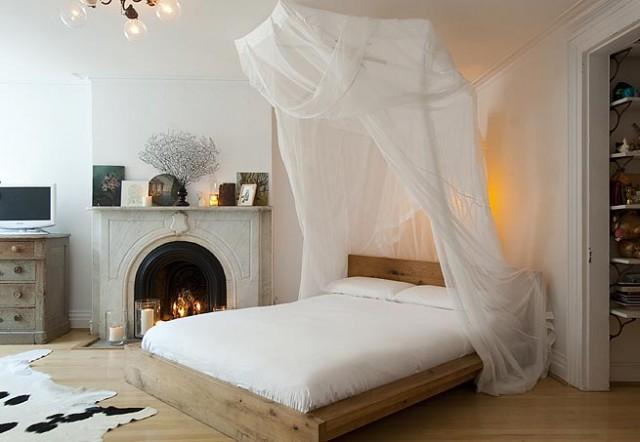 Decorar con mosquiteras Mosquitera para cama
