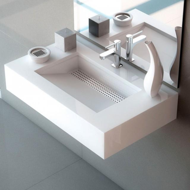 Lavabos con encimera para el baño - dintelo.es