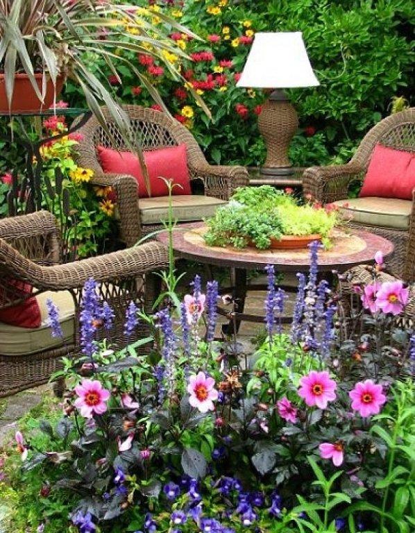 Jardines de ensue o for Jardines hermosos para casas pequenas