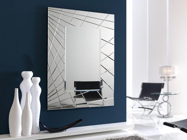 Los espejos for Decoracion espejo pared