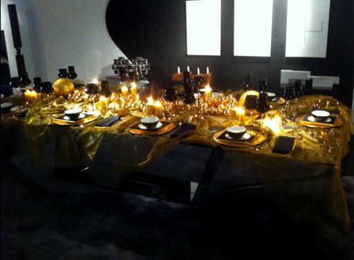 Ideas para decorar la mesa en fin de a o - Ideas cena nochevieja ...