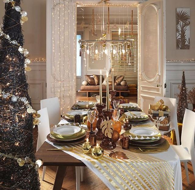 Ideas para decorar la mesa en fin de a o - Decoracion mesa nochevieja ...
