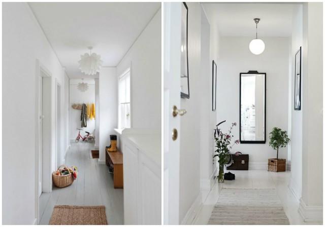 Pasillos c modos ligeros y bonitos for Espejos para pasillos