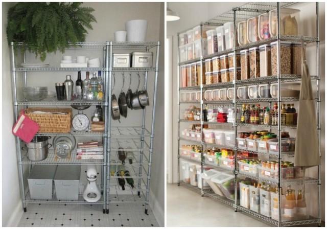 Ikea estanterias metalicas cocina