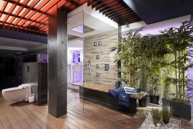 Espectacular showroom de grohe en mallorca for Showroom grohe barcelona