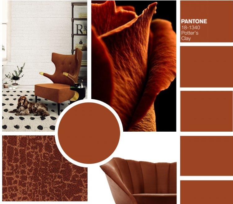 9 collages incre�bles de colores de oto�o segun Pantone