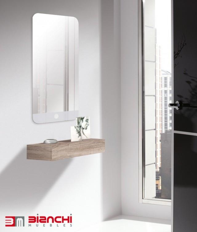 Recibidores para entradas peque as bianchi muebles - Entraditas pequenas ikea ...