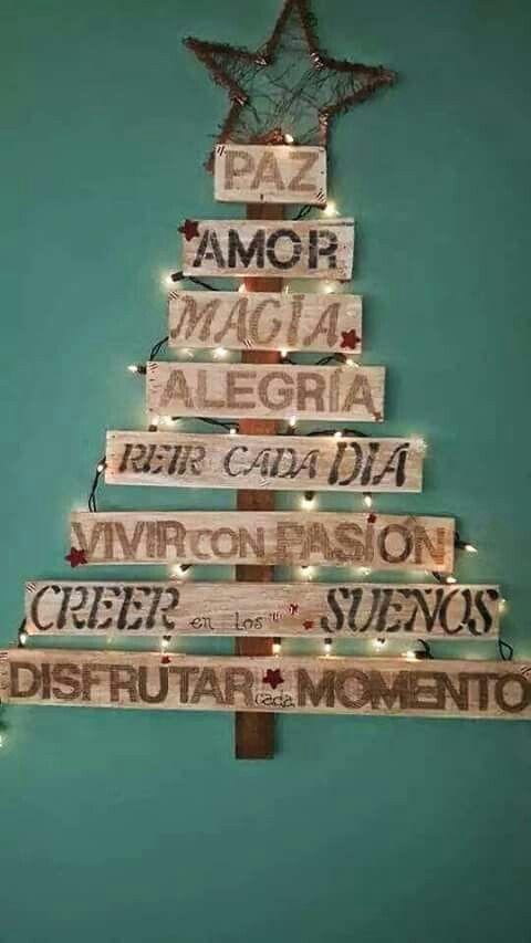 arbol de navidad original - Arbol De Navidad De Madera