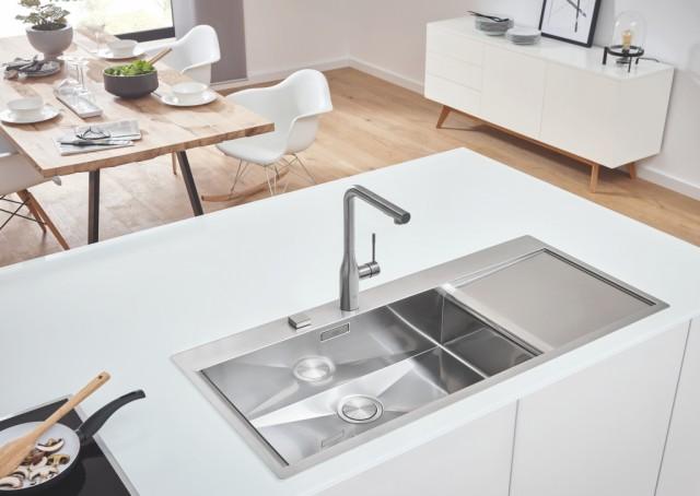 Completa el diseño de tu cocina con los nuevos fregaderos